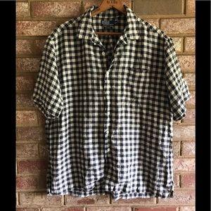 POLO Ralph Lauren 100% Linen button down shirt